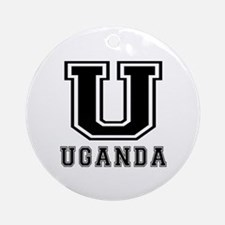 Uganda Designs Ornament (Round)