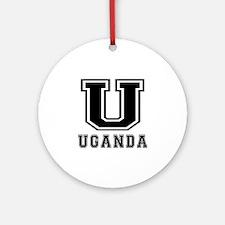 Uganda Designs Ornament (Round)