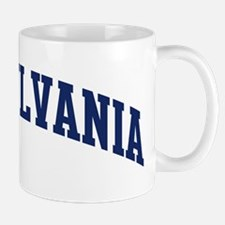 Blue Classic Pennsylvania Mug