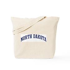 Blue Classic North Dakota Tote Bag