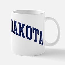 Blue Classic North Dakota Mug