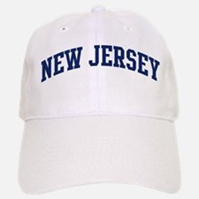 Blue Classic New Jersey Baseball Baseball Cap