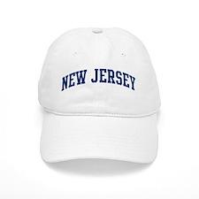 Blue Classic New Jersey Baseball Cap