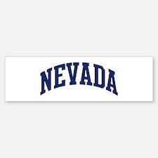 Blue Classic Nevada Bumper Bumper Bumper Sticker