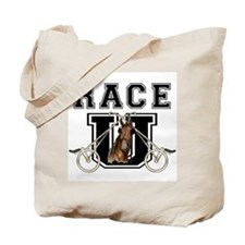 Race U Tote Bag