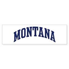 Blue Classic Montana Bumper Bumper Sticker