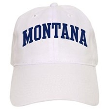 Blue Classic Montana Baseball Cap