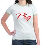 Pig Jr. Ringer T-Shirt