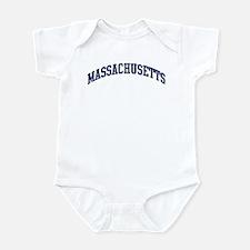 Blue Classic Massachusetts Infant Bodysuit