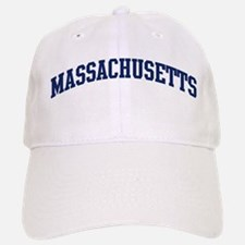 Blue Classic Massachusetts Baseball Baseball Cap