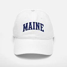 Blue Classic Maine Baseball Baseball Cap