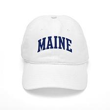 Blue Classic Maine Baseball Cap