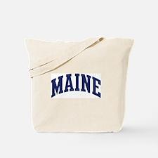 Blue Classic Maine Tote Bag