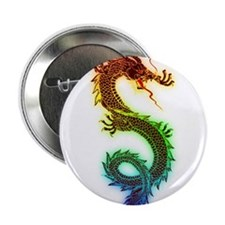"Rainbow Dragon 2.25"" Button (100 pack)"