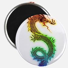 Rainbow Dragon Magnets