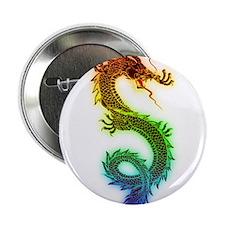 "Rainbow Dragon 2.25"" Button"