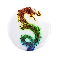 "Rainbow Dragon 3.5"" Button (100 pack)"