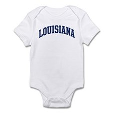 Blue Classic Louisiana Infant Bodysuit