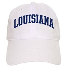 Blue Classic Louisiana Baseball Cap