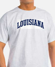 Blue Classic Louisiana Ash Grey T-Shirt