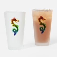 Rainbow Dragon Drinking Glass
