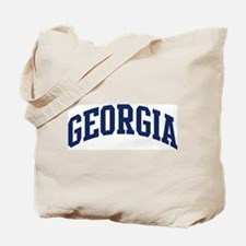 Blue Classic Georgia Tote Bag