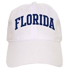 Blue Classic Florida Baseball Cap