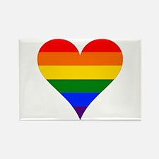 rainbow heart Magnets