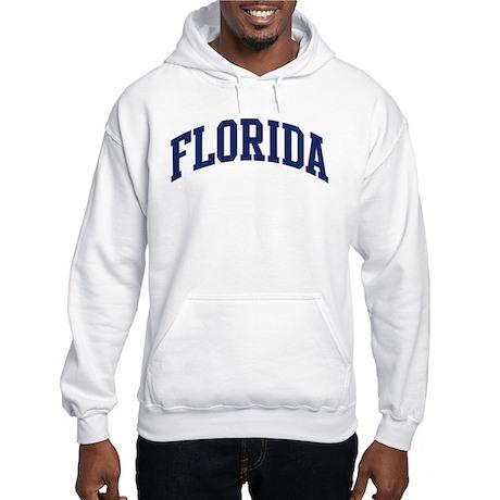 Blue Classic Florida Hooded Sweatshirt