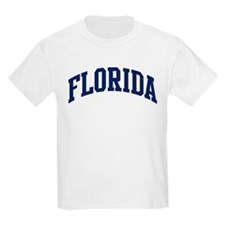 Blue Classic Florida Kids T-Shirt