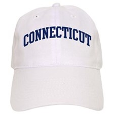Blue Classic Connecticut Baseball Cap