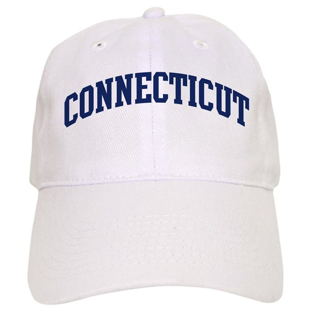 blue classic connecticut baseball cap by myfavoritestate