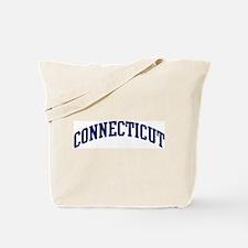 Blue Classic Connecticut Tote Bag