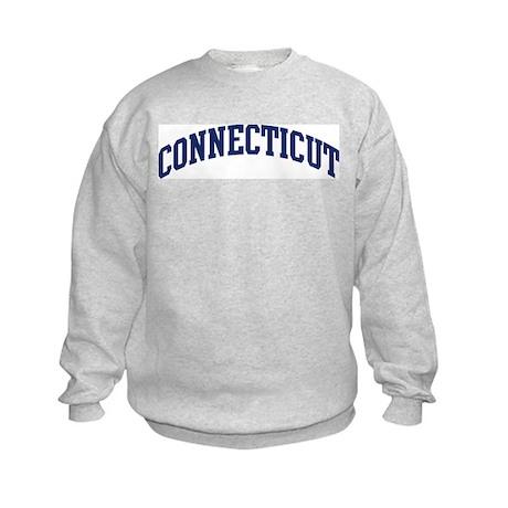 Blue Classic Connecticut Kids Sweatshirt