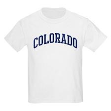 Blue Classic Colorado Kids T-Shirt