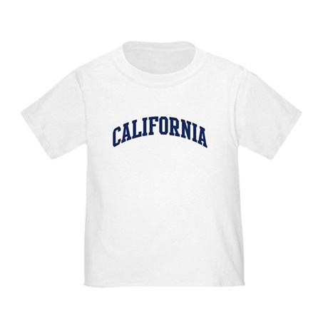 Blue Classic California Toddler T-Shirt