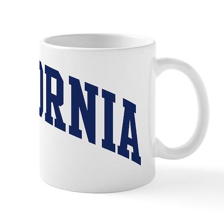 Blue Classic California Mug