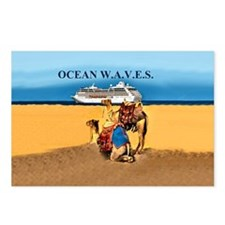 OCEAN  W.A.V.E.S. Postcards (Package of 8)