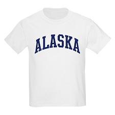 Blue Classic Alaska Kids T-Shirt