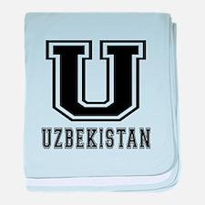 Uzbekistan Designs baby blanket