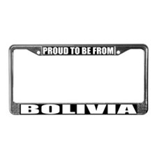 Bolivia License Plate Frame