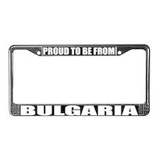 Bulgaria License Plate Frame