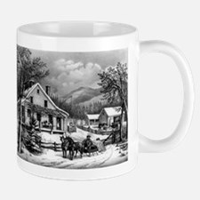 The old farm house - 1872 Mug