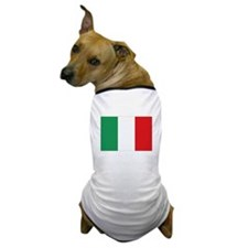 Flag Italy Dog T-Shirt