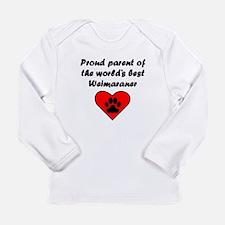 Weimaraner Parent Long Sleeve T-Shirt