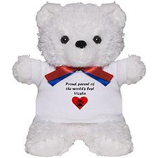 Vizsla Parent Teddy Bear