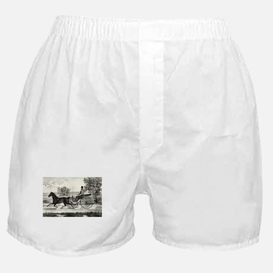 The road,--summer - 1853 Boxer Shorts