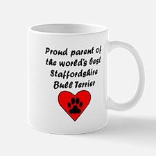 Staffordshire Bull Terrier Parent Mugs