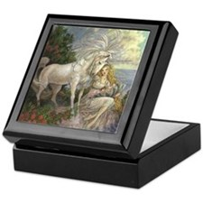 Unicorn and Beauty Keepsake Box