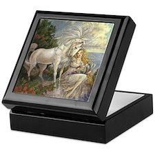 Unicorn and Beauty Keepsake Box